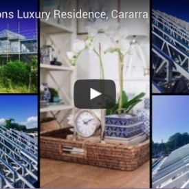 SCA Hamptons Luxury Steel Frame Residence, Carrara, Gold Coast